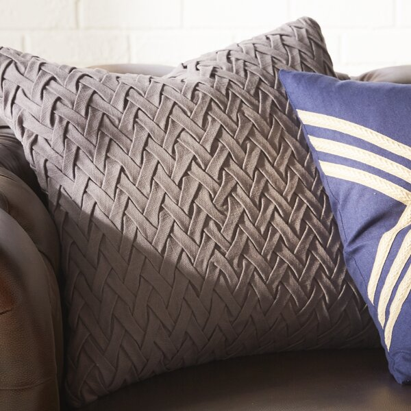 Darryl Easton Facade 100% Cotton Throw Pillow Cover by Langley Street